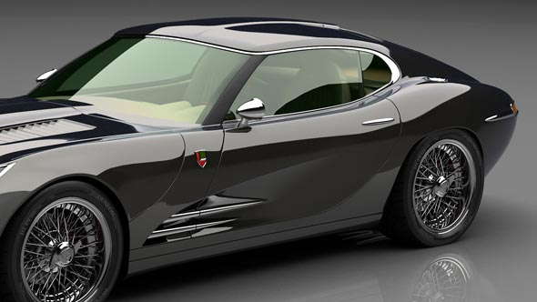 LYONHEART K - A New, Truly British Luxury Sports Car